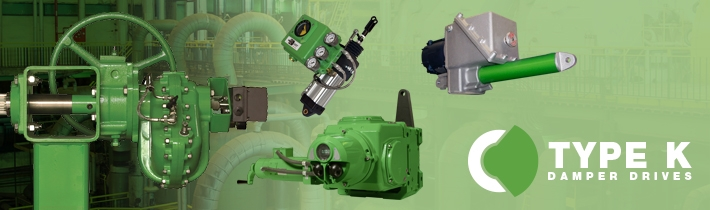Type K Damper Drives Banner