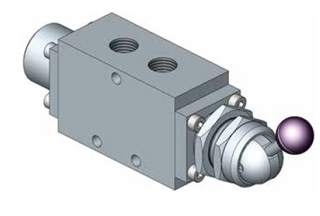 1500 Series Spool Valve Manually Operated Switch