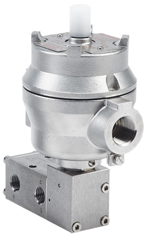 1500 Series Pilot Solenoid Operated Spring Return Spool Valve
