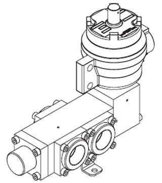 1650 Series Spool Valve, Pilot Solenoid Operated, Spring Return
