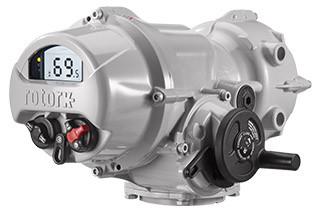 Rotork Iqtf Full Turn Electric Vave Actuator