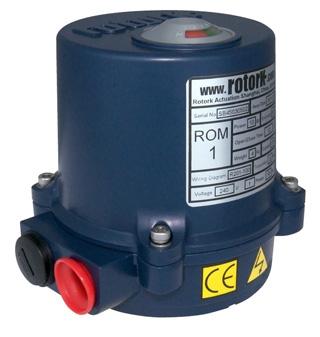 ROM & RBM Range Actuators