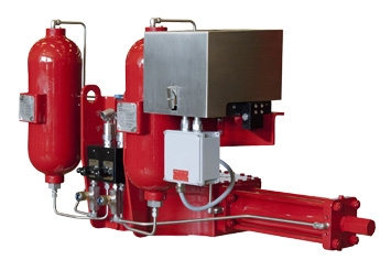 Gas Over Oil Actuator