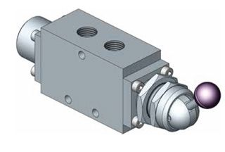 1500 Series Manually Operated Spring Return Spool Valves