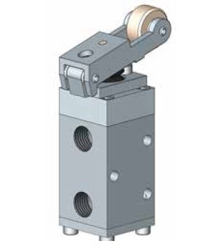1500 Series Roller Lever Operated Spring Return Spool Valve