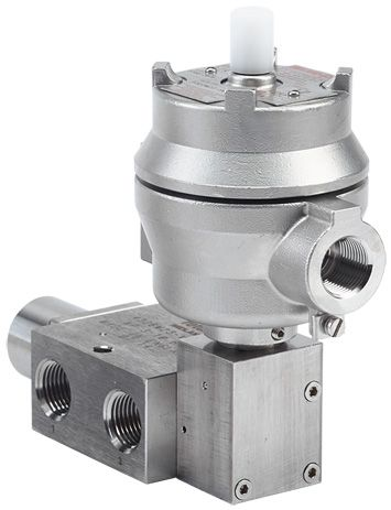 1600 Series Pilot Solenoid Operated Spring Return Spool Valve