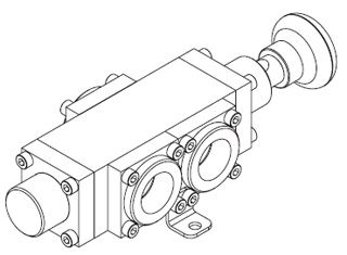 1650 Series Pad Operated Spring Return Spool Valve