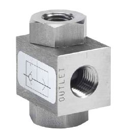 4500 series 1/4 to 1 inch Shuttle Valves