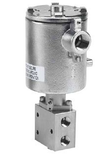 1/4, 3/8, 1/2 inch Direct Solenoid Operated Manual Override