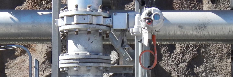 Intelligent valve actuators in the mining industry